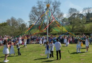 Lustleigh May Day
