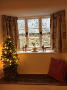 Merry Christmas at Three Pound Cottage the Dartmoor self catering holiday rental