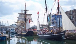 Plynouth commemorating 400 year anniversary of the Mayflower