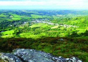 Views of Dartmoor and Chagford from Meldon Hill