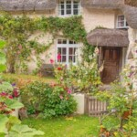 A collection of beautiful thatched properties surround this lustleigh holiday rental