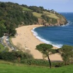 Devon's sandy beaches are just a short drive away from the self catering accomodation in Lustleigh